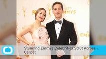 Stunning Emmys Celebrities Strut Across Red Carpet