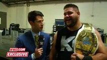 Kevin Owens' bizarre post-match interview_ WWE.com Exclusive, Sept. 20, 2015 WWE Wrestling On Fantastic Videos