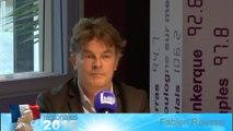 Fabien Foussel, tête de liste PC-Front de gauche aux régionales dans le Nord-Pas-de-Calais-Picardie