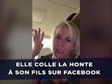 Elle colle la honte à son fils sur Facebook parce qu'il ne lui téléphone plus !