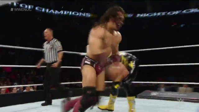 Neville & The Lucha Dragons Vs. Stardust & The Ascension Night Of Champions 2015 Kickoff