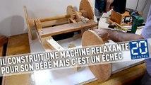 Il construit une machine relaxante pour son bébé mais ça ne fonctionne pas