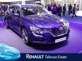 Renault Talisman break en direct du salon de Francfort 2015