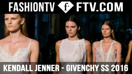 Kendall Jenner walks for Givenchy NYFW 2015 | FTV.com