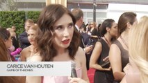 Celebrities discuss body-shaming & define feminism on the Emmys red carpet