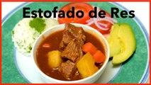 Colombian Beef Stew With Tomato Sauce / Estofado de Res