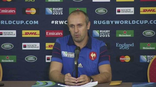 Rugby - CM - Bleus : PSA explique ses choix