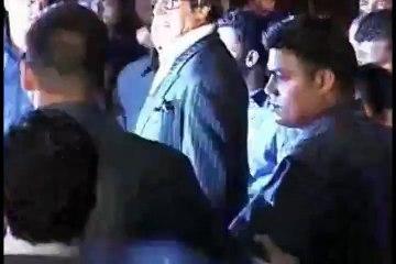 Amitabh Bachchan at the premier of CHITTAGONG