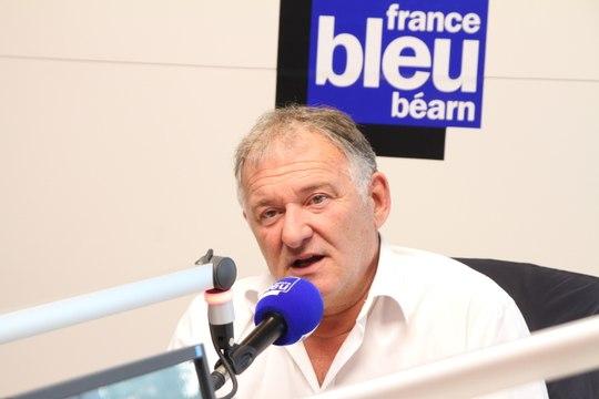 Bernard Pontneau, président de la Section Paloise