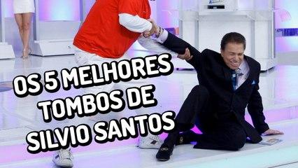 Os 5 melhores tombos de Silvio Santos