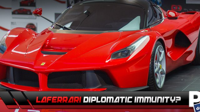 LaFerrari TEARING UP Beverly Hills Claims Diplomatic Immunity!