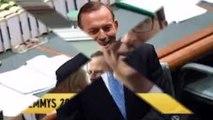 Emmy Awards 2015 John Oliver compares Tony Abbott to heroin on red carpet