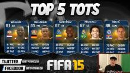 Top 5 Best 'Team of the Season' Players