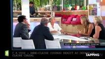 Anne-Claire Coudray réagit au départ de Claire Chazal