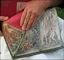 funny amazing videos - Book pages painting Latest funny ..   funny amazing videos - Book pages painting Latest funn