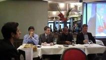 """Café-débat Jeunes de la Droite Populaire:""""De L'URSS à la Russie:La Guerre froide se poursuit elle?"""" - F.X. Mbouyom"""