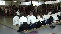 Forum des associations 2015, Aikido enfants+ados