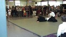 Forum des associations 2015, Aikido adultes