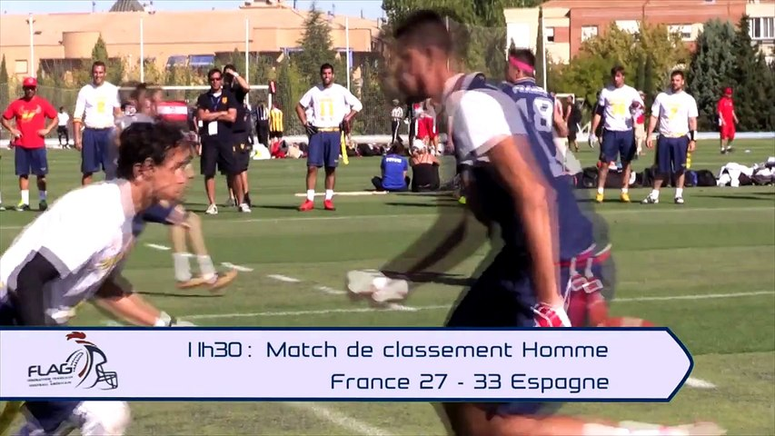 CHAMPIONNAT D'EUROPE FLAG 2015 : VIDEO 9