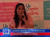 N11 Informativo LIGA DE LUCHA CONTRA EL CANCER LANZA CAMPAÑA PARA PREVENIR EL CANCER DE CUELLO UTERINO