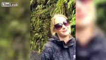 Guy annoys Girlfriend with bushwalking puns