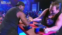 LiveLeak.com - Ben Ross suffers serious arm injury during arm-wrestle challenge with Wendell Sailor on live TV