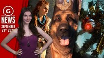 Fallout 4's Real Life Dogmeat & BioShock Remake Coming? - GS Daily News