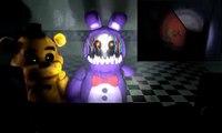 [FNAF SFM] FNAF 4 Trailer : Golden Freddy and Withered Bonnie React!
