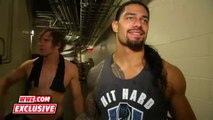Roman Reigns _ Dean Ambrose comment on their crushing loss_Sept. 20, 2015 WWE Wrestling