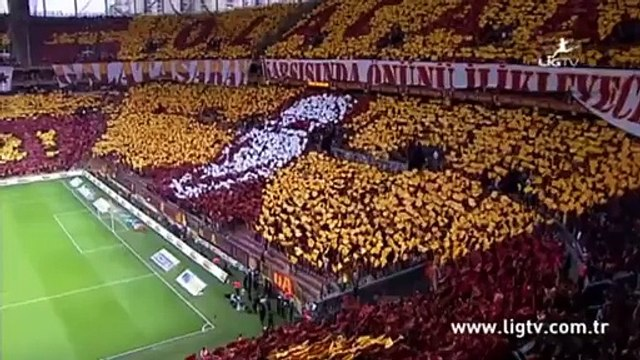 24 Mayıs 2015 Galatasaray 2-0 Beşiktaş&ultrAslan Great Choreo!