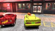 Toy Story Spiderman and White Spiderman Goofy Disney Pixar Cars Colors Lightning Mcqueen H