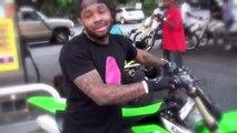 Gros ouf en moto