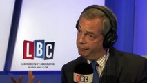 UKIP: Nigel Farage On LBC London Doesnt Feel Or Look British