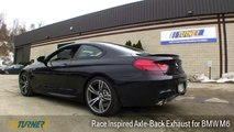 Turner F13 BMW M6/F06 M6 Gran Coupe Race Inspired Axle-Back Exhaust