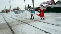 Снегур 2015 !Видео которое шокировало интернет