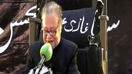 Allama Talib Jauhary 03  Majlis 03 Muharram 1437-2015