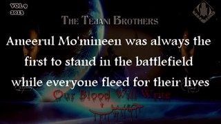 The Tejani Brothers - Ali Ibn Abi Talib (AS) (Official Lyrics Video)