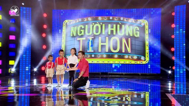 Người Hùng Tí Hon THVL - Tập 1- Tài năng đặc biệt Minh Quang, Minh Nhật & Phương Nhi
