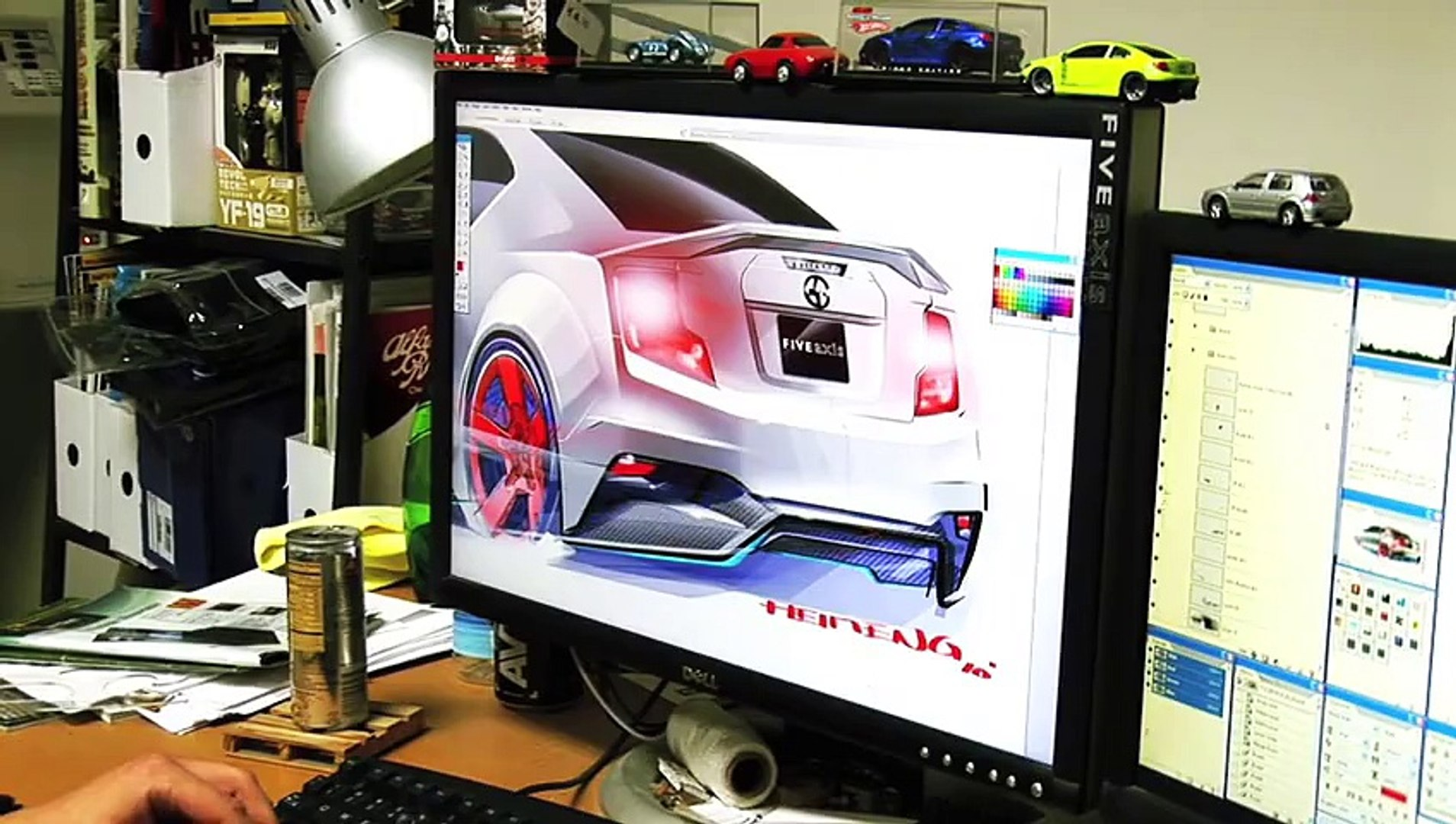 2011 Scion tC Show Car by Five Axis - Build Video