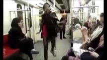 Iranian Woman Dancing on Tehrans metro 2014!!! | VIDEO