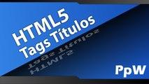 Curso de Html5 Online - Aula 02 - Tags h1, h2, h3, h4, h5 e h6