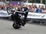 Christian Pfeiffer : SICK Stunt Show @ BMW World in Munich