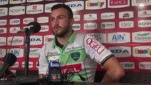 Rugby Top 14 - Brandan Fajardo réagit après Oyonnax - Section Paloise