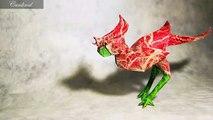 Increibles figuras hechas de papel el hermoso arte del origami