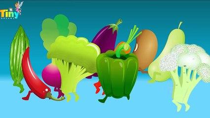 Vegetable Song for Kids Learn Vegetables | Nursery Rhymes for Kids | HD