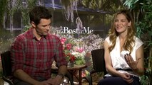 James Marsden & Michelle Monaghan Interview The Best of Me (2014)