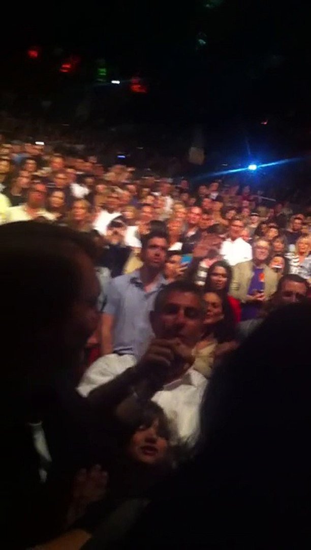 Adele live Someone Like You from the pit at the Greek Theatre LA 08-15-11