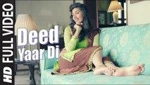 Deed Yaar Di (Full Video) Kesh K Ft. Sachin Ahuja   New Punjabi Song 2015 HD