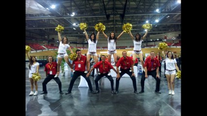 Cheerleaders Templiers 2015-2016