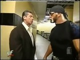 Hulk Hogan returns to WWF 2002 - Segment with Vince Mcmahon